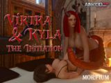 Another demonic training session in Virtra and Kyla – The Initiation and the Demonsister bundle by Morfium!