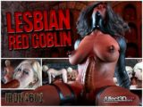 New Futanari Threesome from Iron4601: Lesbian Red Vampire!
