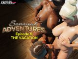The futanari vacation we all need in Sensual Adventures Ep. 5 – The Vacation by Puppetmaster!
